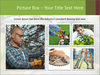 Pruning fruit trees by pruning shears PowerPoint Template - Slide 19