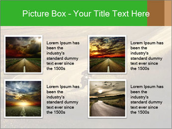 Motorcycle on countryside road PowerPoint Template - Slide 14