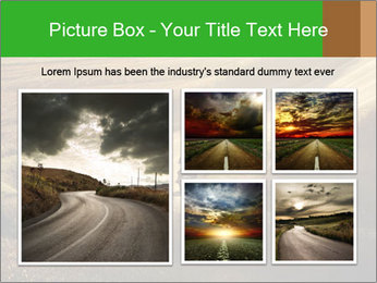 Motorcycle on countryside road PowerPoint Template - Slide 19