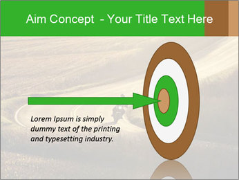 Motorcycle on countryside road PowerPoint Template - Slide 83