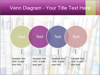 Row of newspapers PowerPoint Template - Slide 32