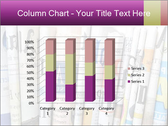Row of newspapers PowerPoint Template - Slide 50