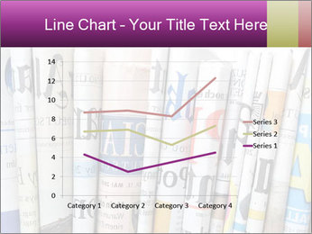 Row of newspapers PowerPoint Template - Slide 54