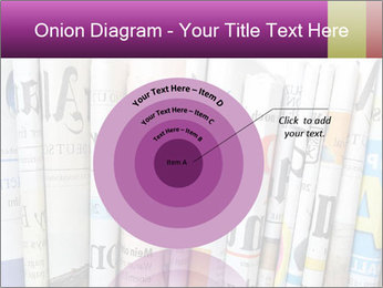 Row of newspapers PowerPoint Template - Slide 61