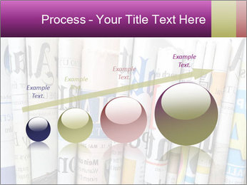 Row of newspapers PowerPoint Template - Slide 87