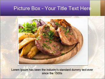 Homemade Irish Beef Stew with Carrots and Potatoes PowerPoint Template - Slide 16
