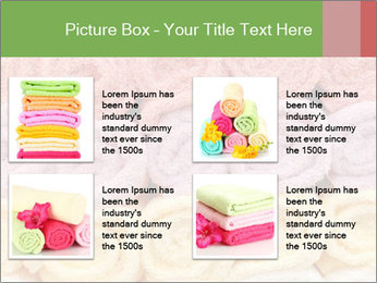 Colorful towels template PowerPoint Templates - Slide 14