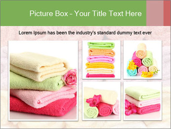 Colorful towels template PowerPoint Templates - Slide 19