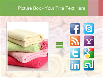 Colorful towels template PowerPoint Templates - Slide 21