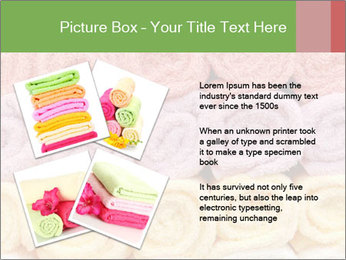 Colorful towels template PowerPoint Templates - Slide 23