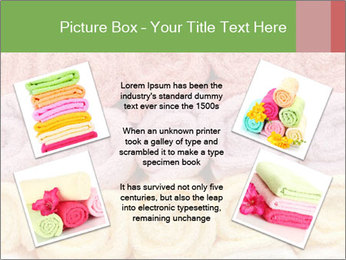Colorful towels template PowerPoint Templates - Slide 24
