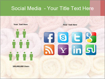 Colorful towels template PowerPoint Templates - Slide 5