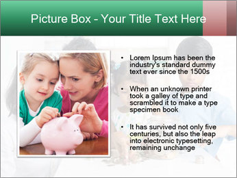 Indian family teaching children PowerPoint Template - Slide 13