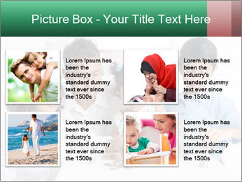 Indian family teaching children PowerPoint Templates - Slide 14
