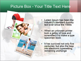 Indian family teaching children PowerPoint Template - Slide 17