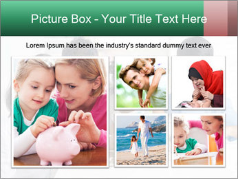 Indian family teaching children PowerPoint Template - Slide 19
