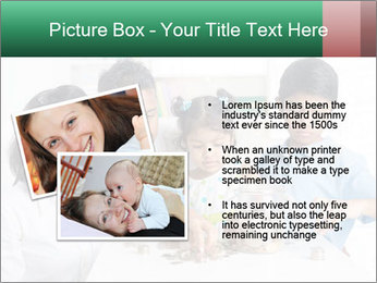 Indian family teaching children PowerPoint Template - Slide 20