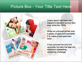 Indian family teaching children PowerPoint Template - Slide 23