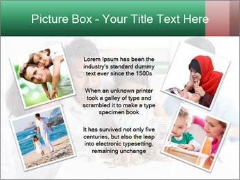 Indian family teaching children PowerPoint Template - Slide 24
