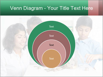 Indian family teaching children PowerPoint Templates - Slide 34