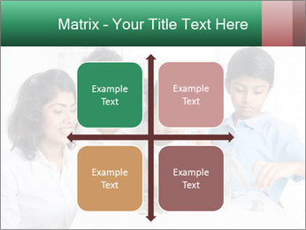 Indian family teaching children PowerPoint Template - Slide 37