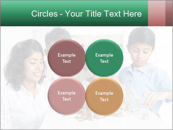 Indian family teaching children PowerPoint Template - Slide 38