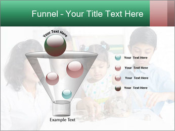 Indian family teaching children PowerPoint Template - Slide 63