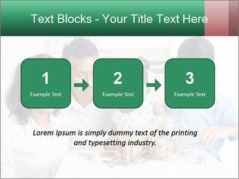 Indian family teaching children PowerPoint Template - Slide 71