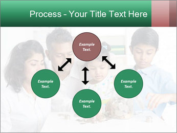 Indian family teaching children PowerPoint Template - Slide 91