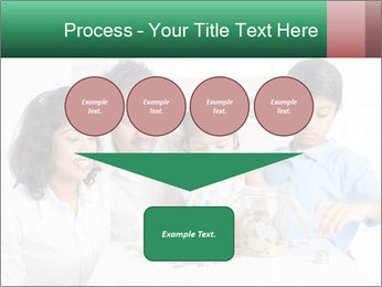 Indian family teaching children PowerPoint Template - Slide 93