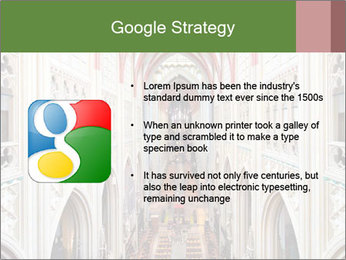 Symmetrical composition of the interior PowerPoint Template - Slide 10