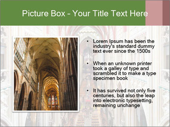 Symmetrical composition of the interior PowerPoint Template - Slide 13