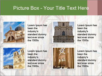 Symmetrical composition of the interior PowerPoint Template - Slide 14