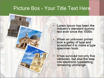Symmetrical composition of the interior PowerPoint Template - Slide 17
