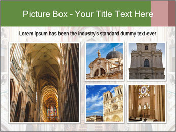 Symmetrical composition of the interior PowerPoint Template - Slide 19