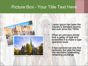 Symmetrical composition of the interior PowerPoint Template - Slide 20