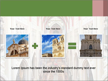 Symmetrical composition of the interior PowerPoint Template - Slide 22