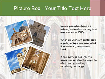 Symmetrical composition of the interior PowerPoint Template - Slide 23