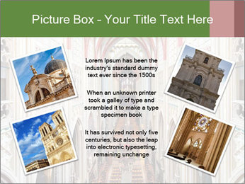 Symmetrical composition of the interior PowerPoint Template - Slide 24