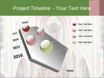 Symmetrical composition of the interior PowerPoint Template - Slide 26
