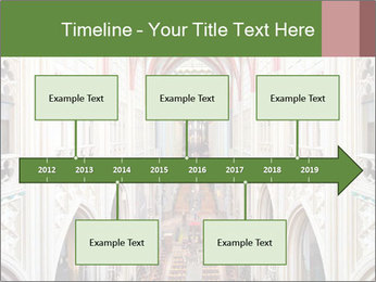 Symmetrical composition of the interior PowerPoint Template - Slide 28
