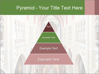 Symmetrical composition of the interior PowerPoint Template - Slide 30