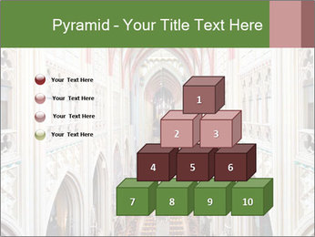 Symmetrical composition of the interior PowerPoint Template - Slide 31