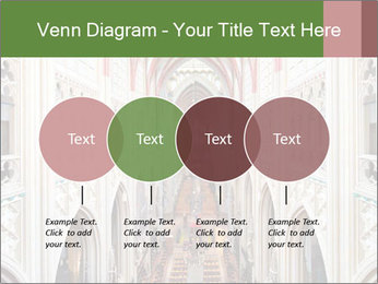 Symmetrical composition of the interior PowerPoint Template - Slide 32