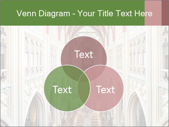 Symmetrical composition of the interior PowerPoint Template - Slide 33