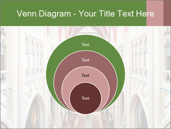 Symmetrical composition of the interior PowerPoint Template - Slide 34