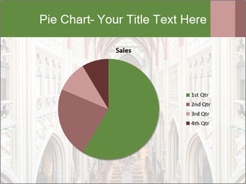 Symmetrical composition of the interior PowerPoint Template - Slide 36
