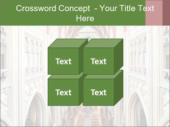 Symmetrical composition of the interior PowerPoint Template - Slide 39