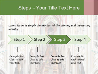 Symmetrical composition of the interior PowerPoint Template - Slide 4
