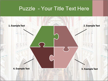Symmetrical composition of the interior PowerPoint Template - Slide 40